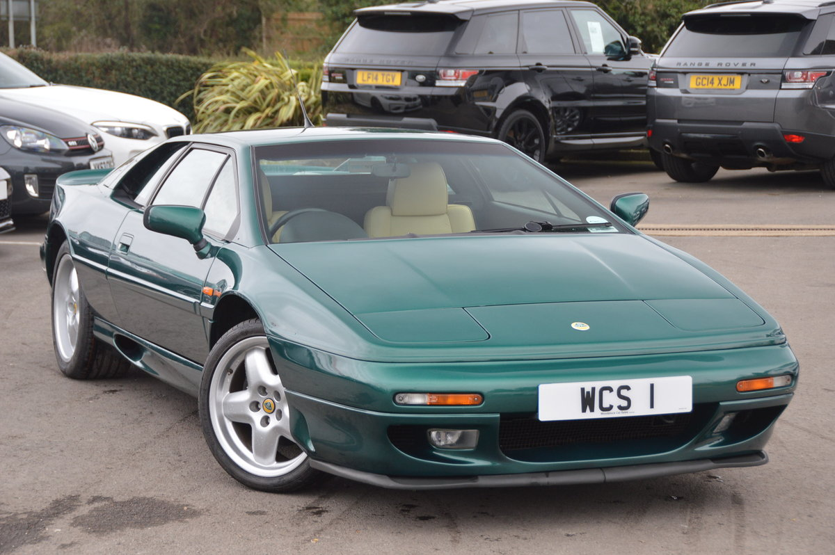 1998 Lotus Esprit 2.0 GT3 One Private Owner / 31,000m For Sale (picture 1 of 6)