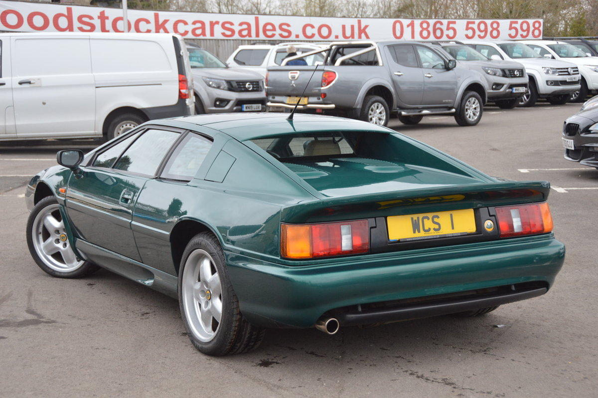 1998 Lotus Esprit 2.0 GT3 One Private Owner / 31,000m For Sale (picture 2 of 6)