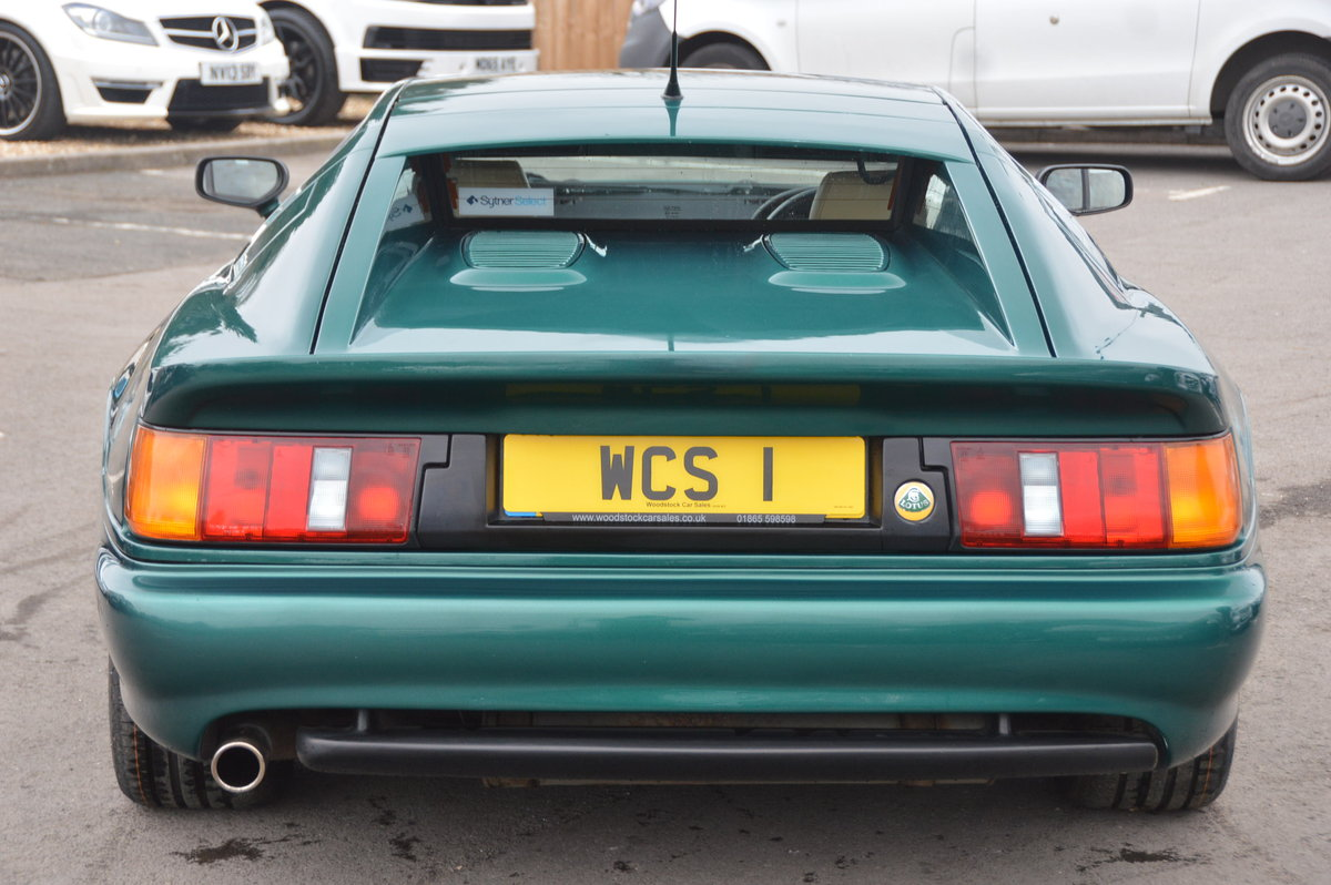 1998 Lotus Esprit 2.0 GT3 One Private Owner / 31,000m For Sale (picture 3 of 6)
