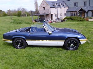 Lotus Elan DHC Sprint spec