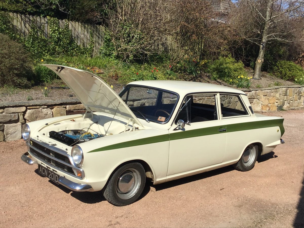1966 LHD Genuine Lotus Cortina SOLD | Car And Classic