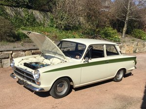 1966 LHD Genuine Lotus Cortina  Price reduced  For Sale