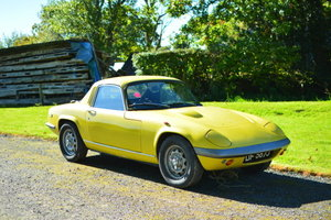 1970 Lotus Elan SE For Sale by Auction