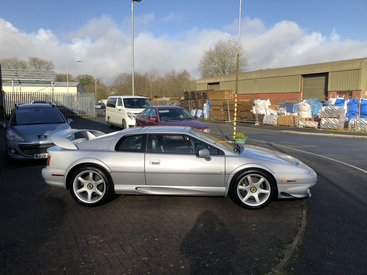 2001 Lotus Esprit 3.5 V8 twin turbo LHD For Sale (picture 2 of 6)