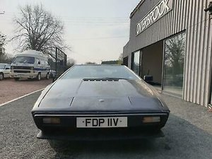 Lotus Esprit S2 1980 BLACK 42K MILES RESTORATION PROJECT For Sale