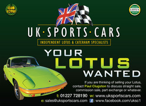 Lotus Elans Wanted - Any Age – Condition – Model – Mileage   Wanted