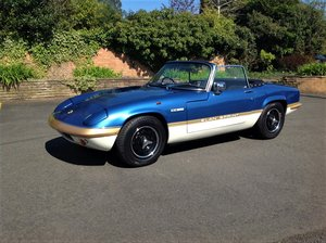 1972 Lotus Elan Sprint DHC