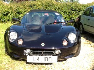 1999 S1 Lotus Elise 111S DEEP PURPLE/  Biege int For Sale
