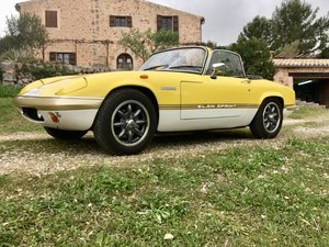 1970 S4 Elan Sprint LHD for sale