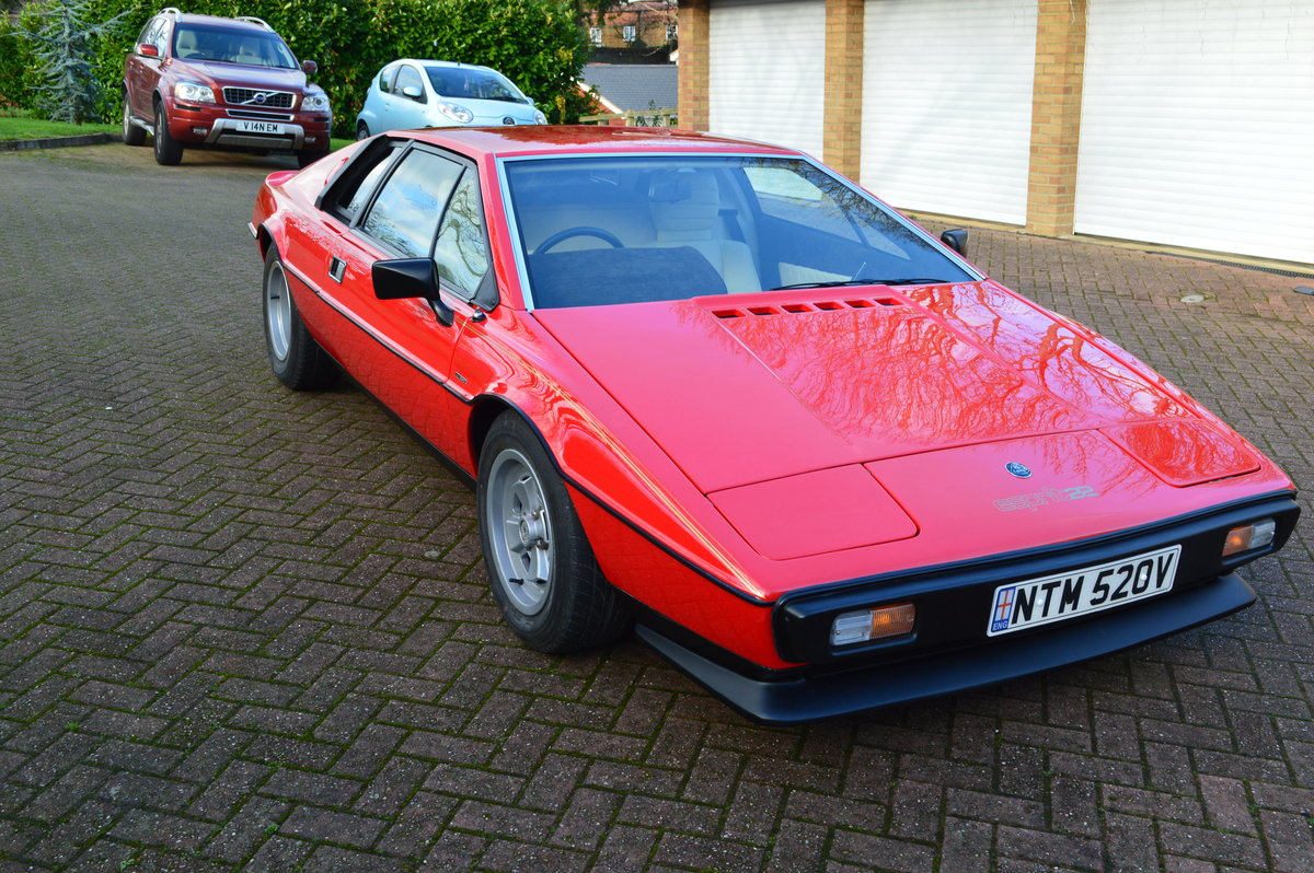 1980 Lotus Esprit S2.2 For Sale (picture 1 of 6)