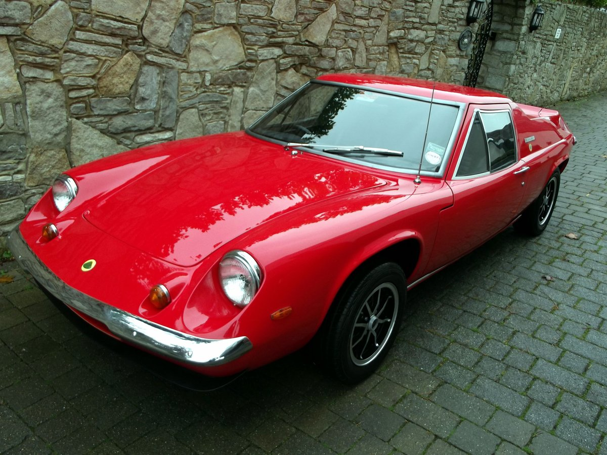 1971 LOTUS EUROPA TWIN CAM For Sale (picture 1 of 6)