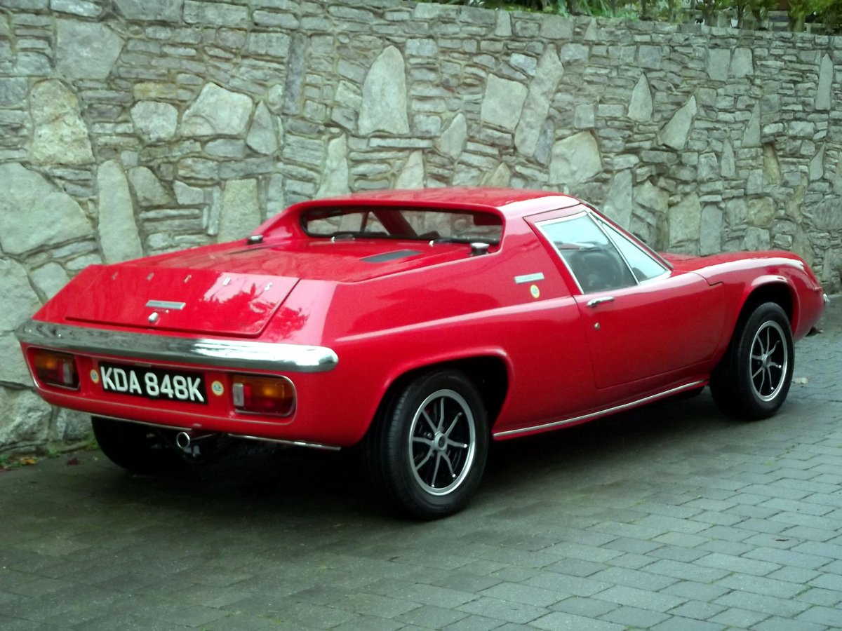 1971 LOTUS EUROPA TWIN CAM For Sale (picture 2 of 6)