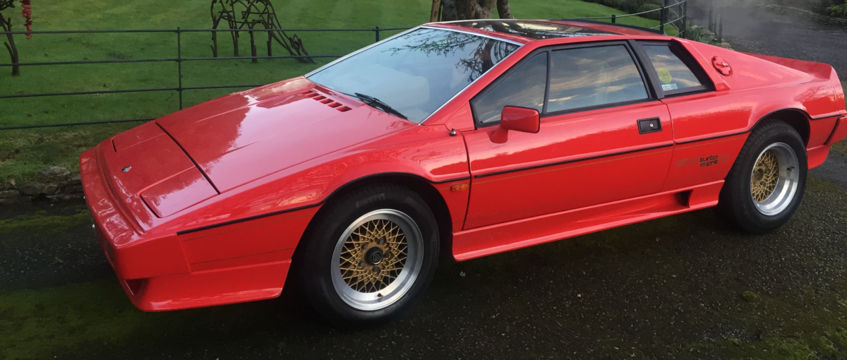 1987 Lotus Esprit Turbo HC For Sale (picture 1 of 6)