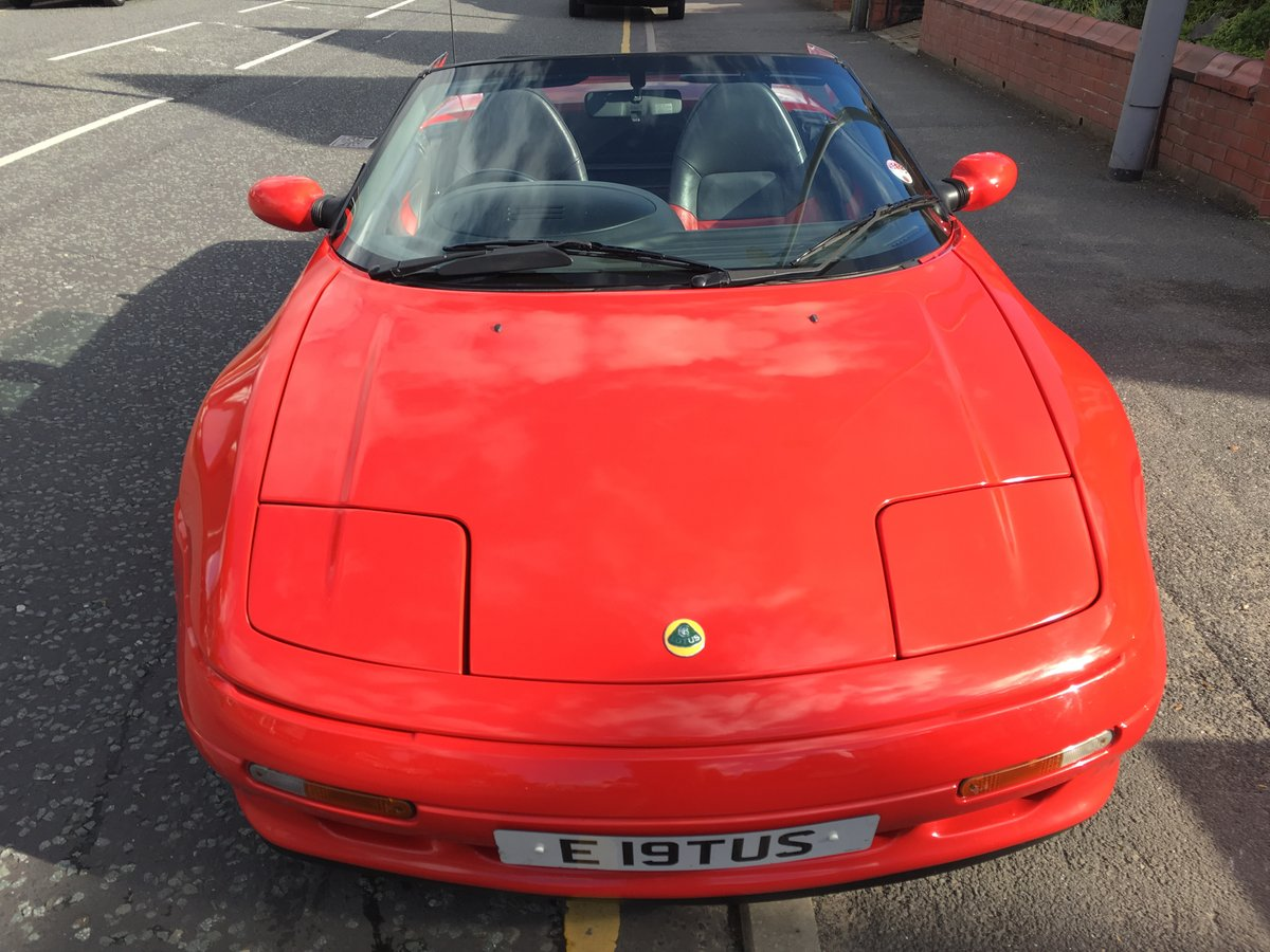 1991 Excellent Condition Classic Lotus Elan SE Turbo For Sale (picture 1 of 6)