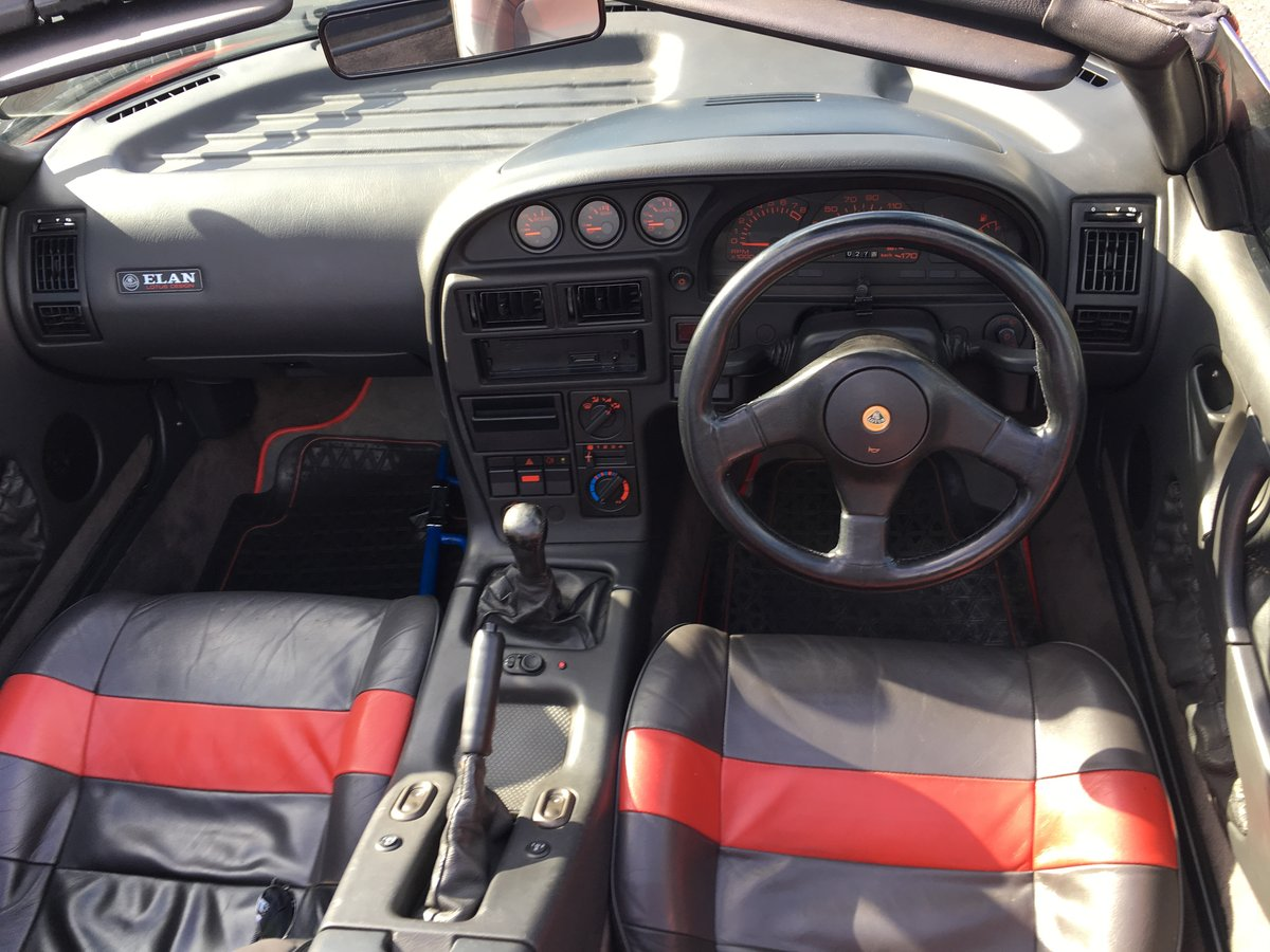 1991 Excellent Condition Classic Lotus Elan SE Turbo For Sale (picture 4 of 6)