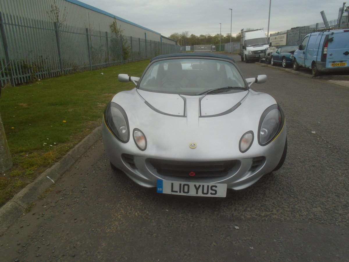 2001 LOTUS ELISE 1.8 16 VALVE For Sale (picture 1 of 6)