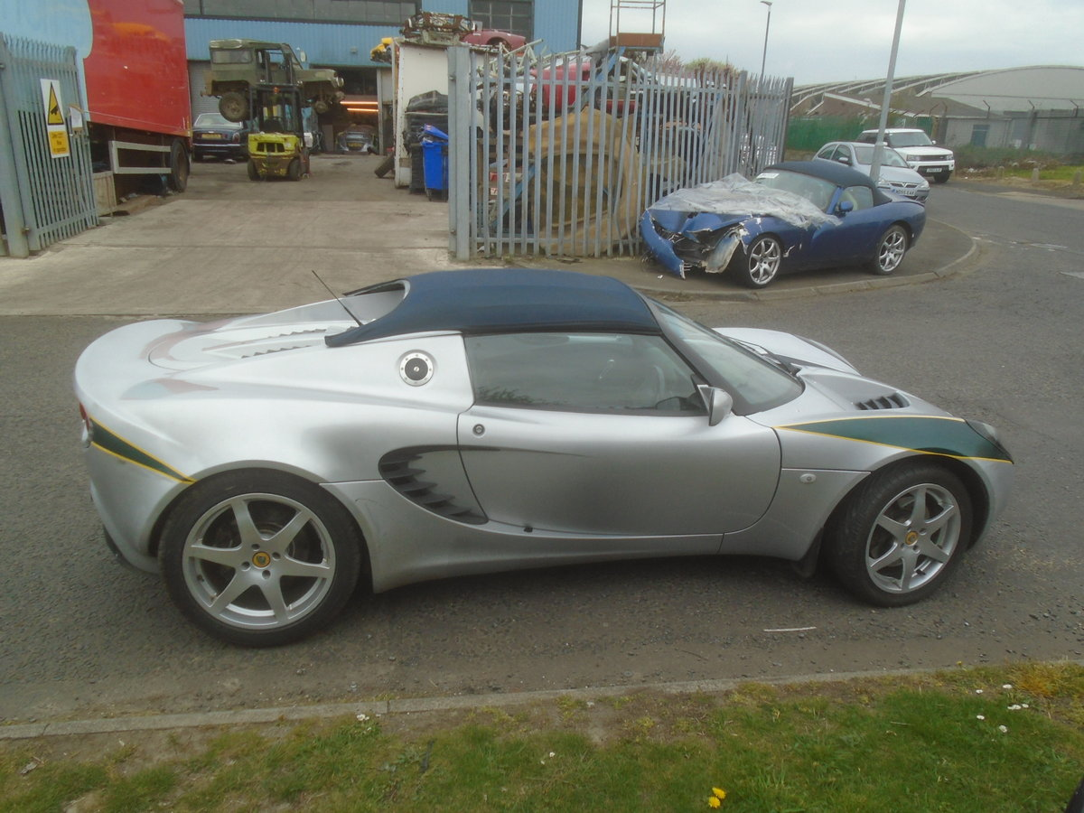2001 LOTUS ELISE 1.8 16 VALVE For Sale (picture 2 of 6)