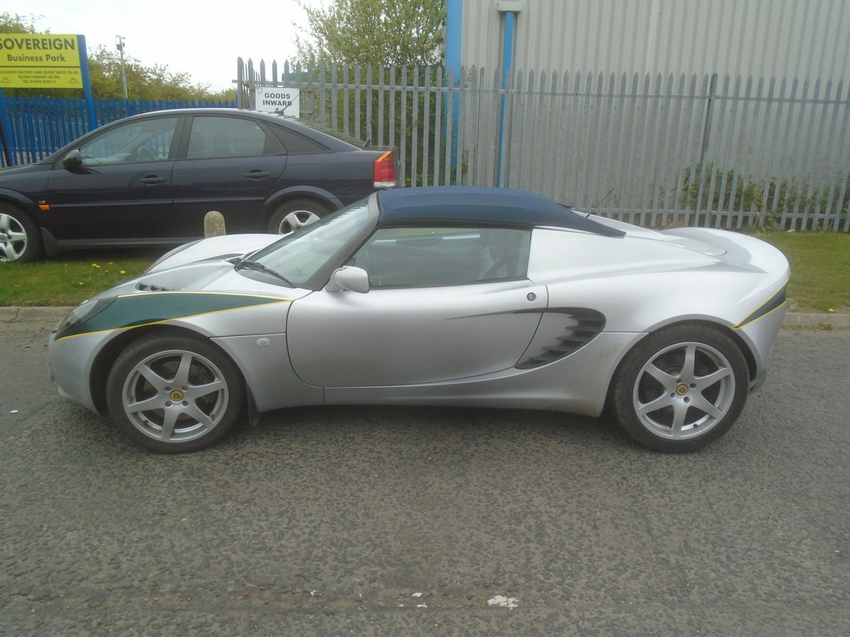 2001 LOTUS ELISE 1.8 16 VALVE For Sale (picture 3 of 6)