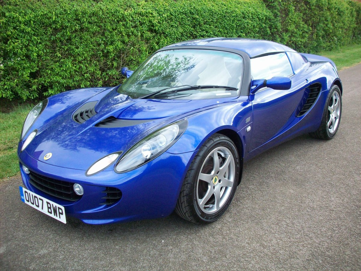 2007 Lotus Elise S Touring SOLD (picture 1 of 6)