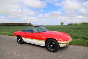 Lotus Elan Sprint DHC, 1972. Team Lotus Colours. For Sale