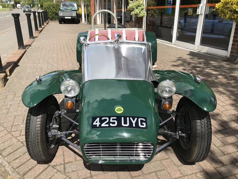 1960 LOTUS SEVEN S2 (Just 900 miles since nut & bolt restoration) For Sale (picture 2 of 6)