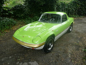 1970 Lotus elan s4 se sprint colours pistacio green