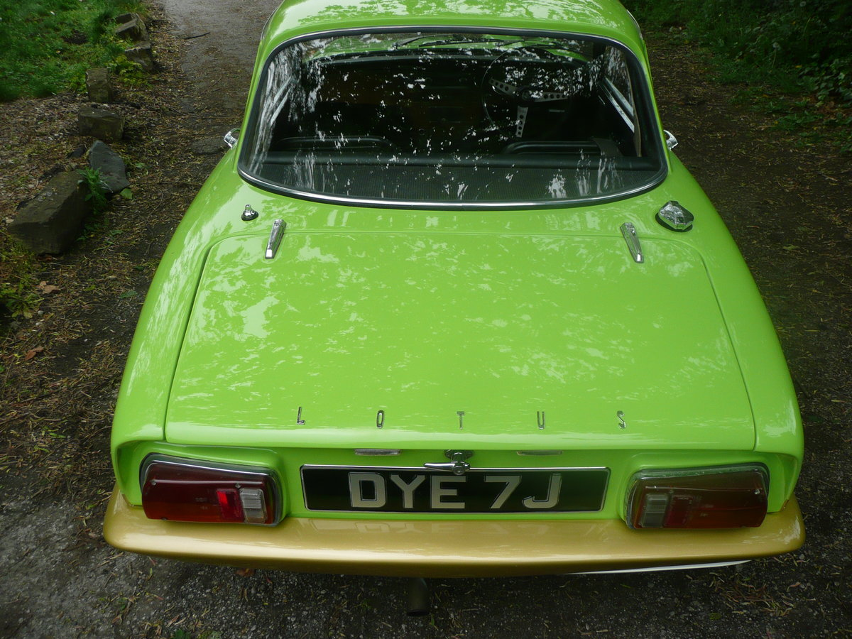 1970 Lotus elan s4 se sprint colours pistacio green For Sale (picture 3 of 6)