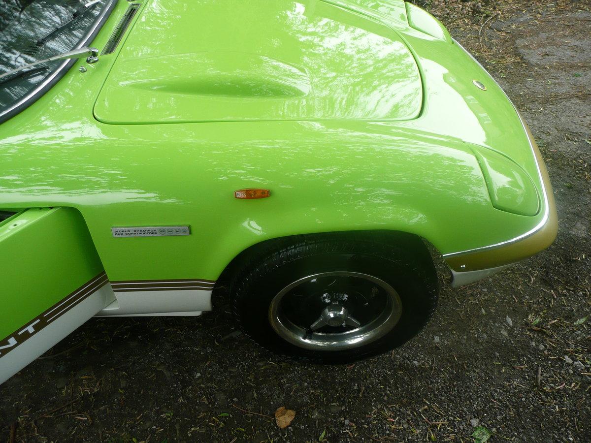 1970 Lotus elan s4 se sprint colours pistacio green For Sale (picture 6 of 6)
