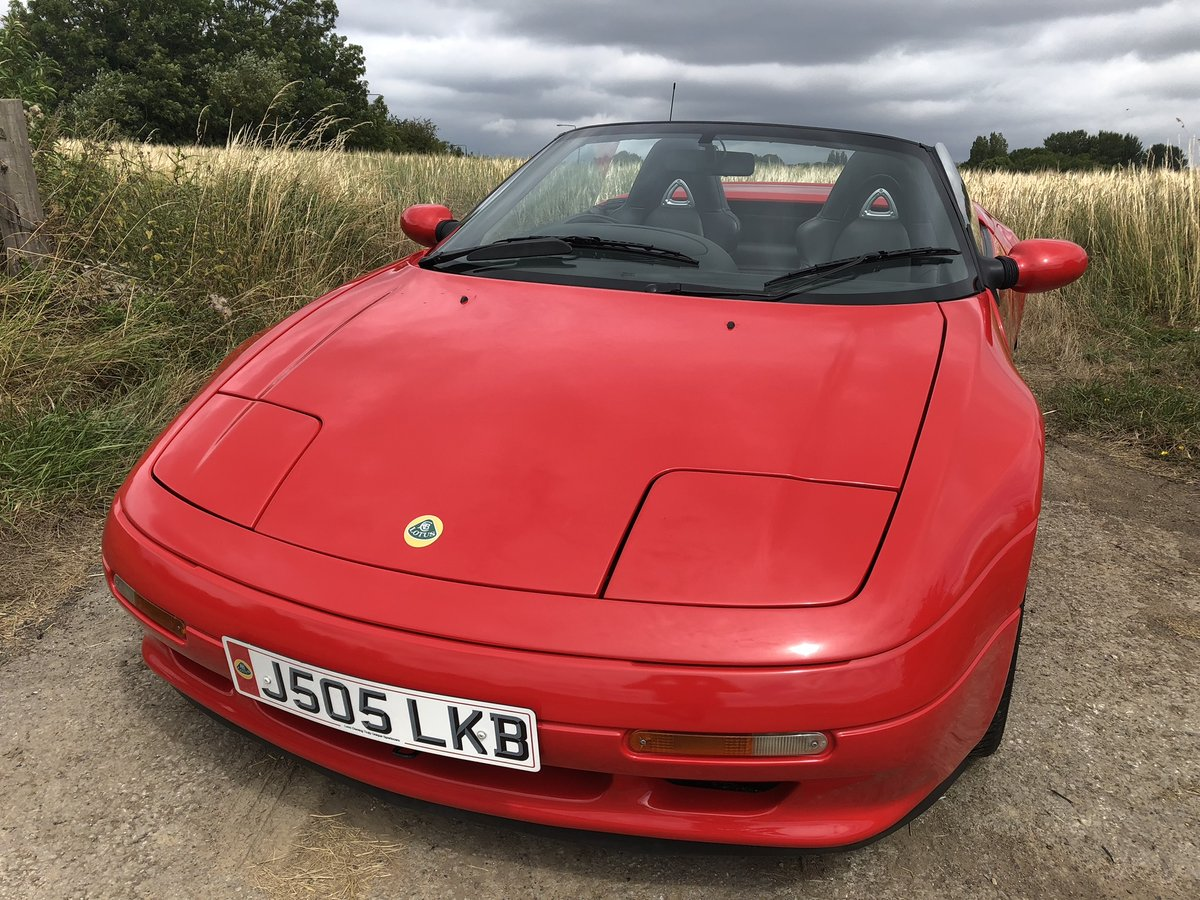 Lovely Lotus Elan SE 1991 J with NEW MOT Appreciating Classi For Sale (picture 1 of 6)