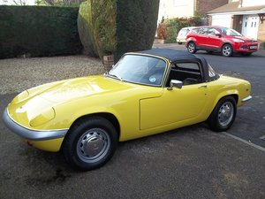 1968 LOTUS ELAN S4 COMPLETE NUT & BOLT RE- BUILD