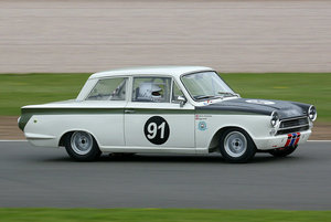 1963 LOTUS CORTINA F.I.A RACE CAR PROVEN RACE WINNER SUPERB! For Sale