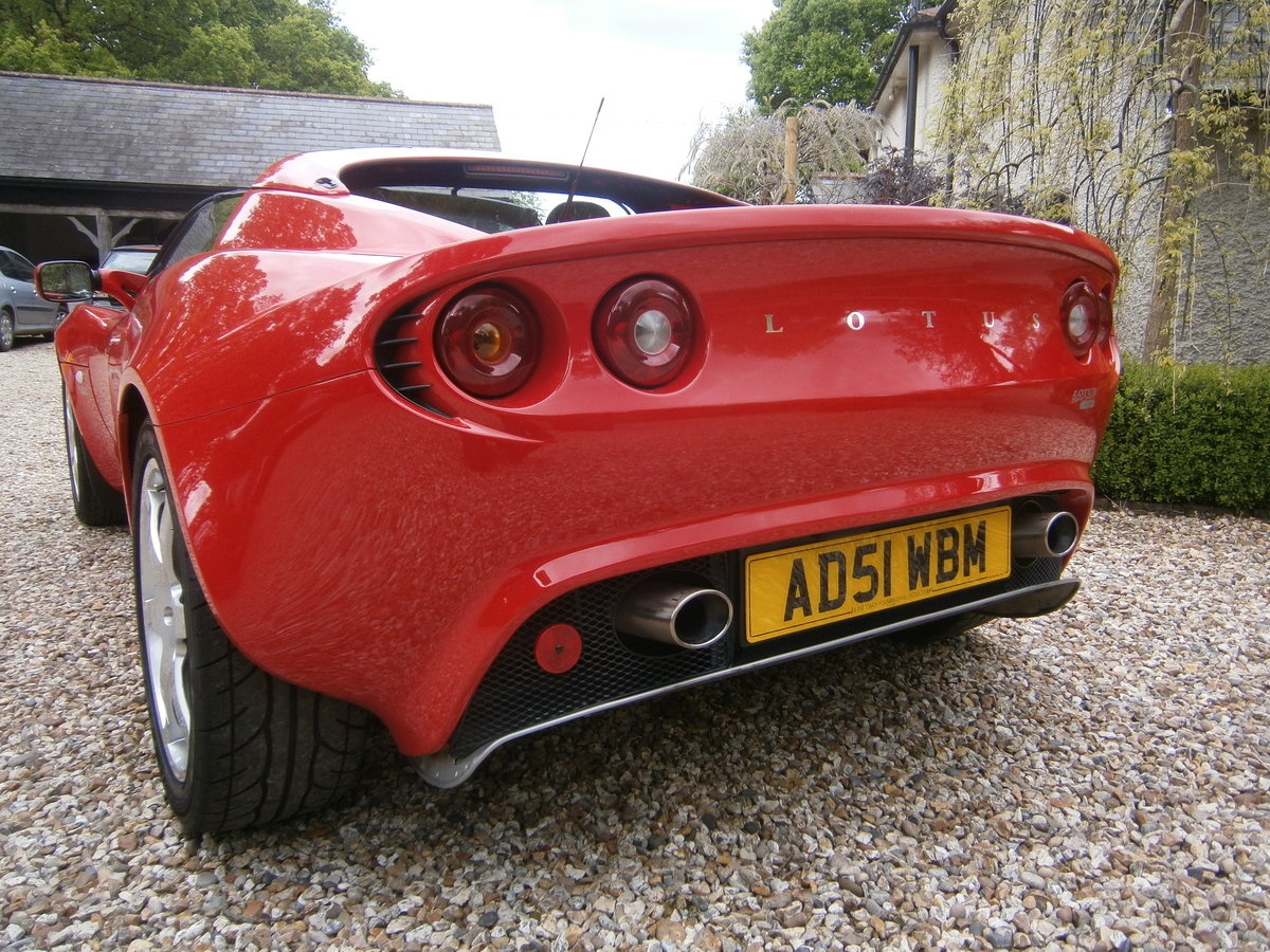 2002 LOTUS ELISE FACTORY 135 SPORT VERY LOW MILES  **SOLD DEPOSIT For Sale (picture 3 of 6)