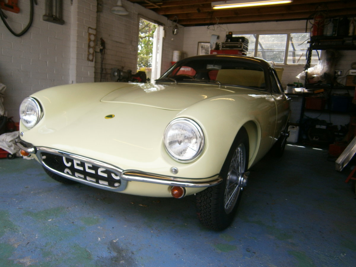 1962 LOTUS ELITE MK 14 CLIMAX SERIES 2 FULLY RESTORED ONE OWNER For Sale (picture 1 of 6)