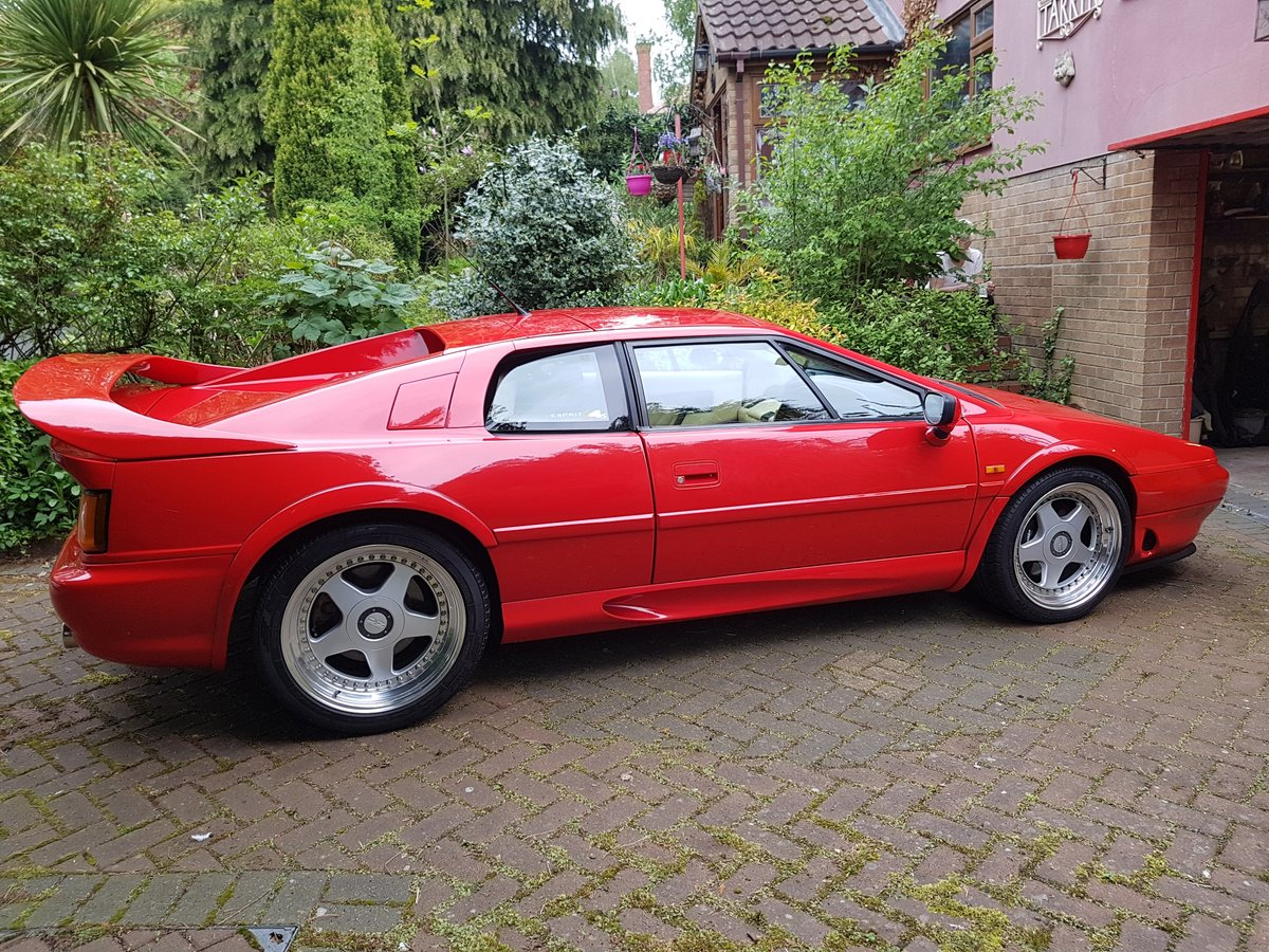 1996 Stunning Red Lotus Esprit S4S-Great condition For Sale (picture 1 of 6)
