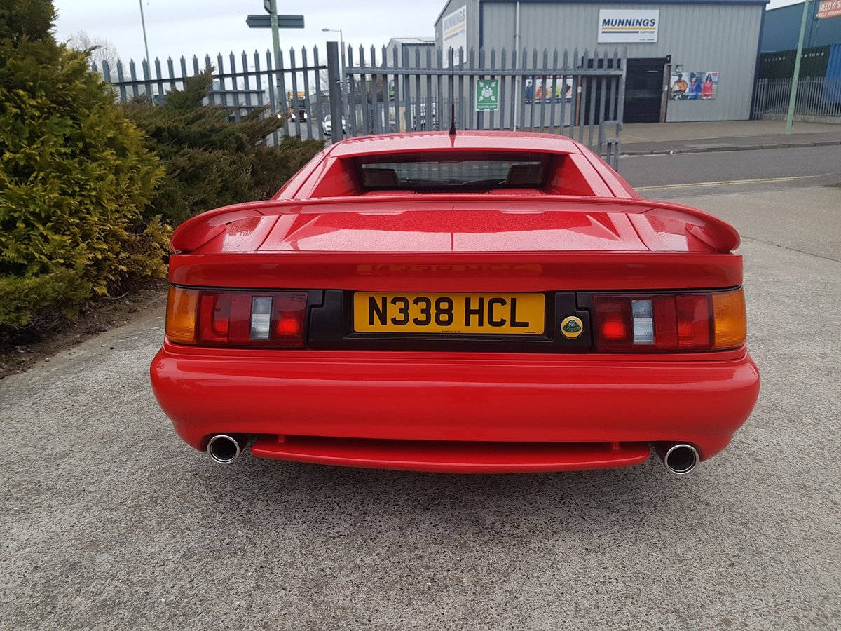 1996 Stunning Red Lotus Esprit S4S-Great condition For Sale (picture 3 of 6)