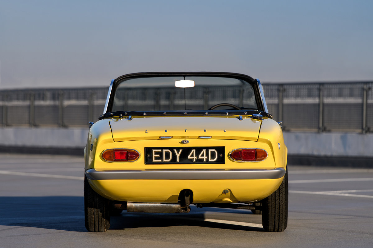 1966 LOTUS ELAN S3 S/E DHC  For Sale (picture 4 of 6)