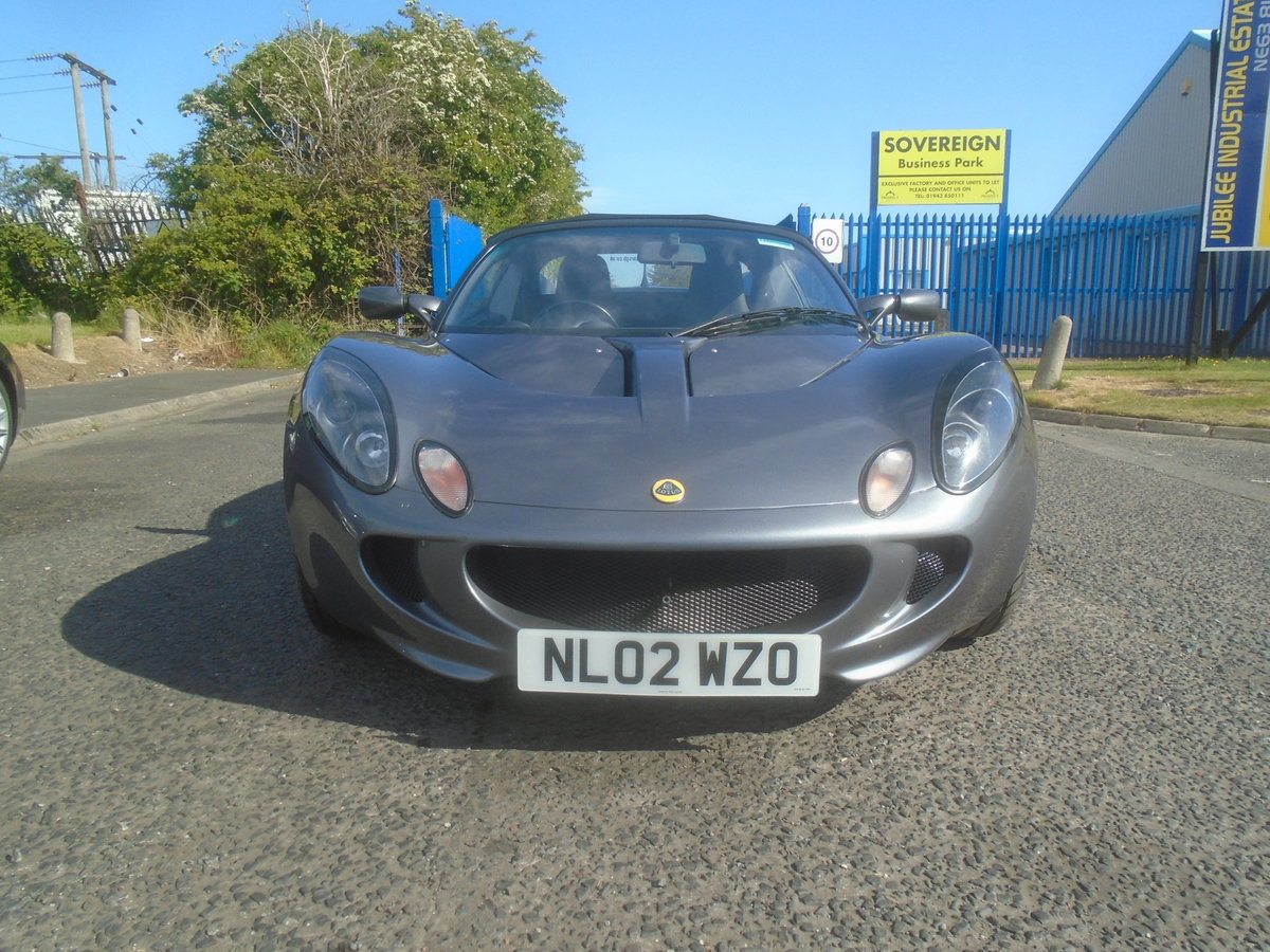 2002 LOTUS ELISE 1.8 16V For Sale (picture 1 of 6)