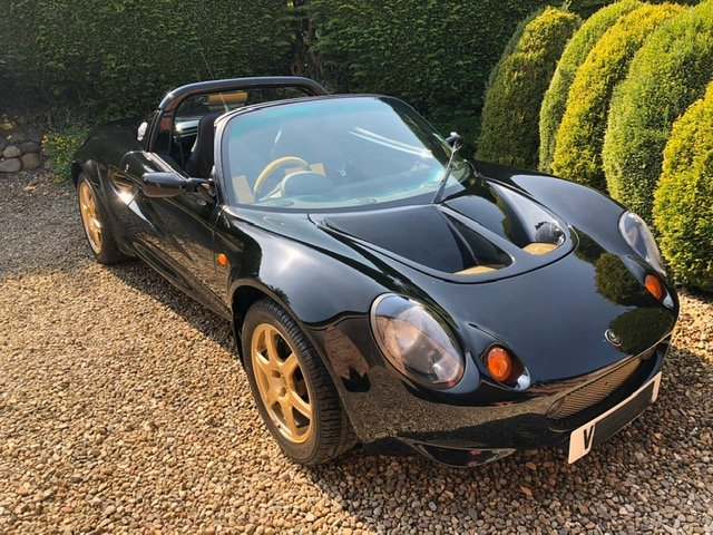 2000 LIMITED EDITION LOTUS ELISE S1 JPS79 For Sale (picture 1 of 6)