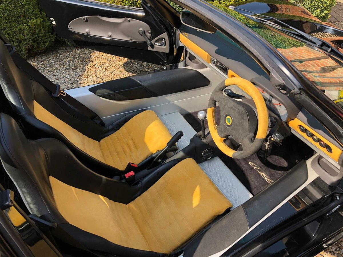 2000 LIMITED EDITION LOTUS ELISE S1 JPS79 For Sale (picture 4 of 6)
