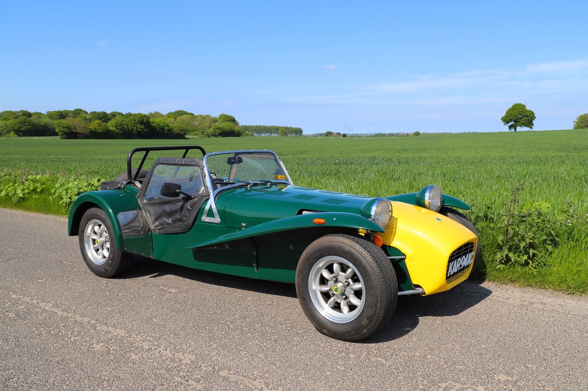 Caterham Super 7 1980 (Manufactured 1979) Lotus Twin-Cam. SOLD (picture 1 of 6)
