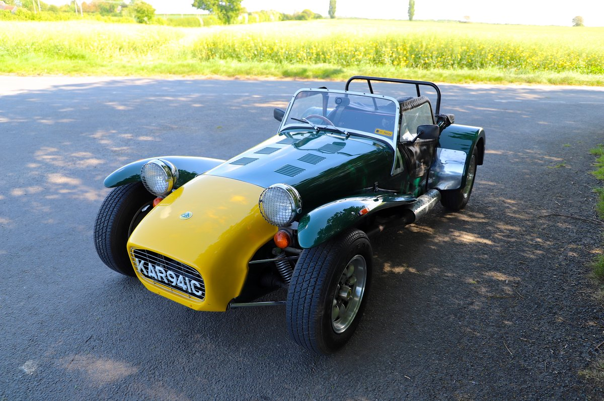 Caterham Super 7 1980 (Manufactured 1979) Lotus Twin-Cam. SOLD (picture 2 of 6)