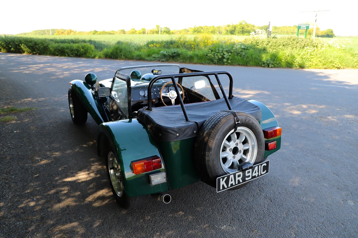 Caterham Super 7 1980 (Manufactured 1979) Lotus Twin-Cam. SOLD (picture 3 of 6)