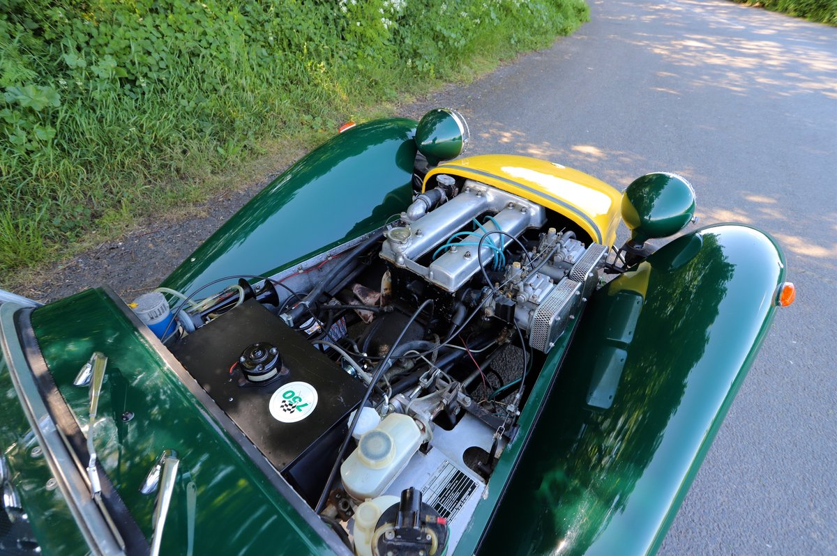Caterham Super 7 1980 (Manufactured 1979) Lotus Twin-Cam. SOLD (picture 6 of 6)