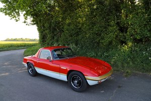 Lotus Elan Sprint FHC, 1973.  Very late Sprint and registere For Sale