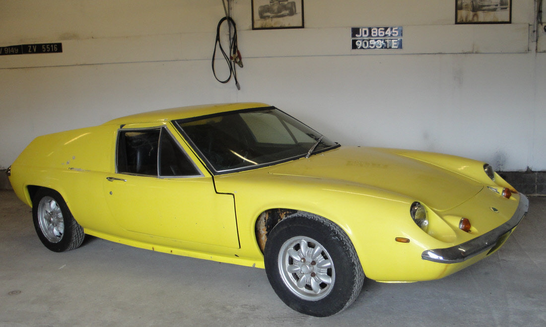 1969 Lotus Europa Series 2 For Sale by Auction | Car And Classic