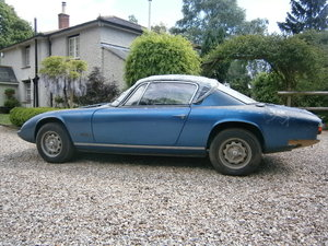 1968 LOTUS ELAN +2 68 OUT FROM LONG TERM STORAGE TRADE *SOLD* For Sale