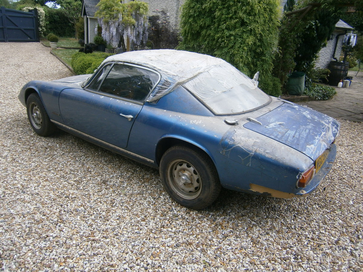1968 LOTUS ELAN +2 68 OUT FROM LONG TERM STORAGE TRADE *SOLD* For Sale (picture 5 of 6)