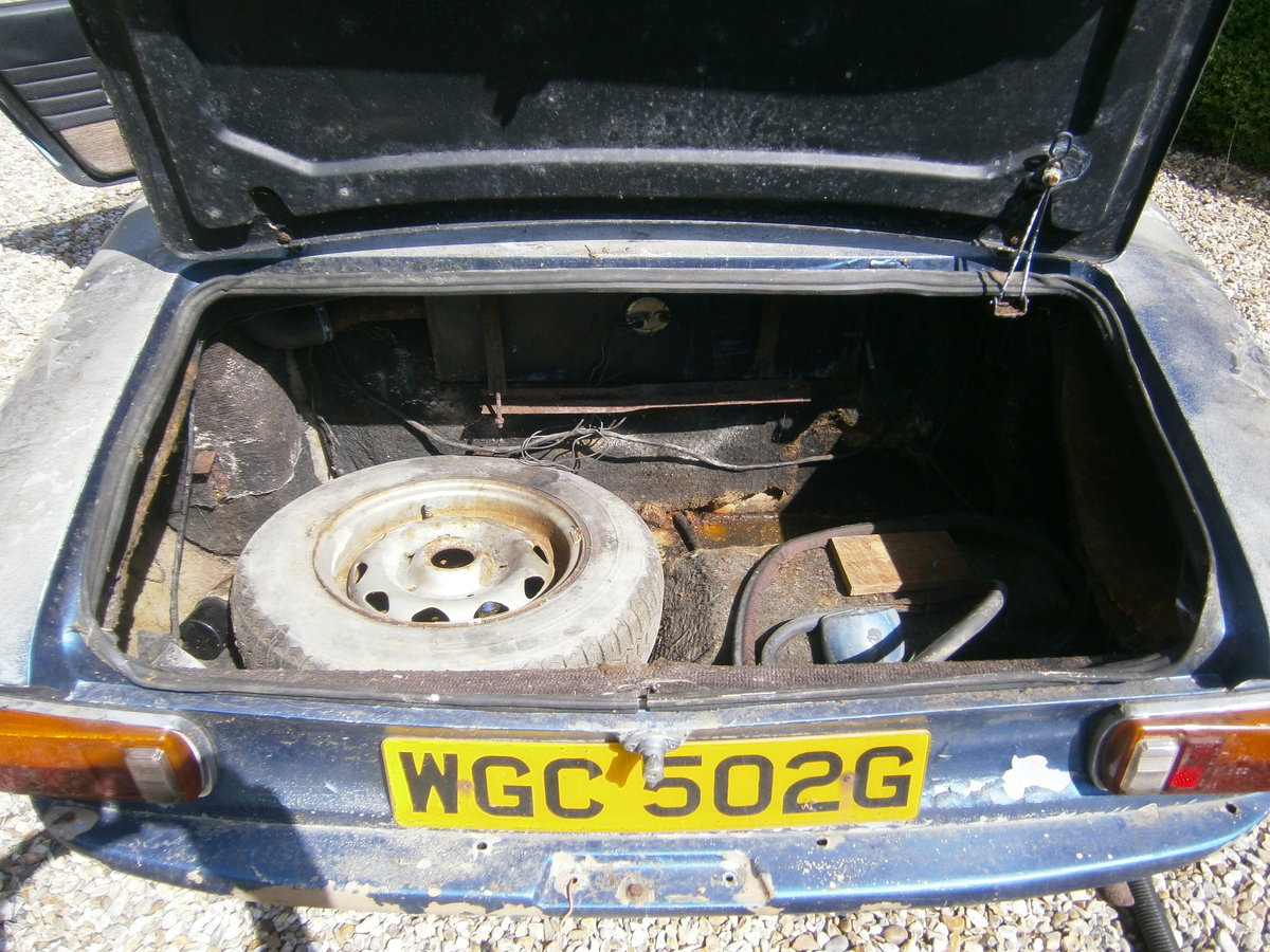 1968 LOTUS ELAN +2 68 OUT FROM LONG TERM STORAGE TRADE *SOLD* For Sale (picture 6 of 6)