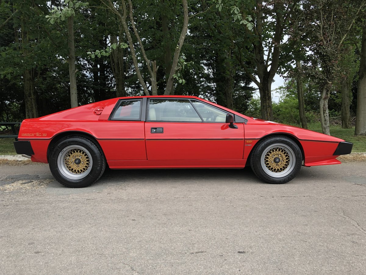 1983 Lotus Esprit S3 For Sale (picture 1 of 6)
