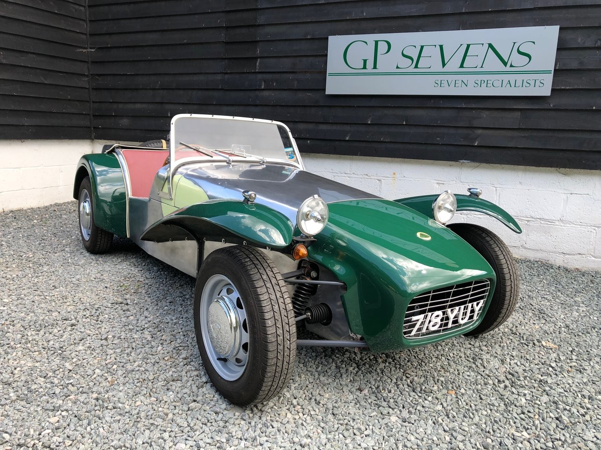 1961 Lotus Super 7 S2 1.4 Ford Cosworth For Sale (picture 1 of 6)